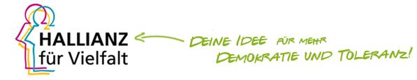 Logo + Claim der Hallianz für Vielfalt