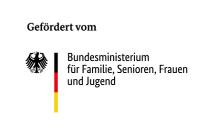 Logo des Bundesministeriums für Familie, Senioren, Frauen und Jugend