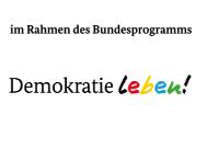 """Logo des Bundesprogramms """"Demokratie leben"""""""