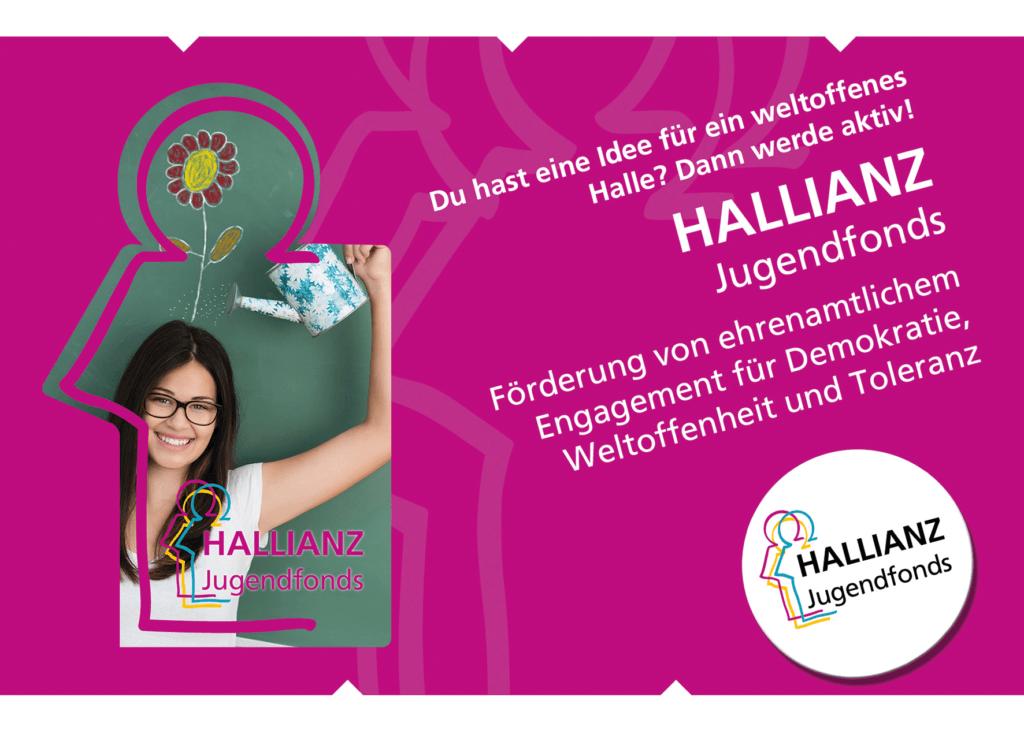 Postkarte des HALLIANZ Jugendfonds